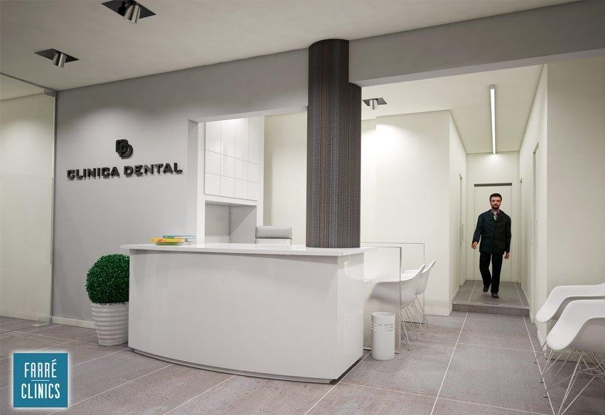 Diseño para clínicas dentales de Farré Clinics