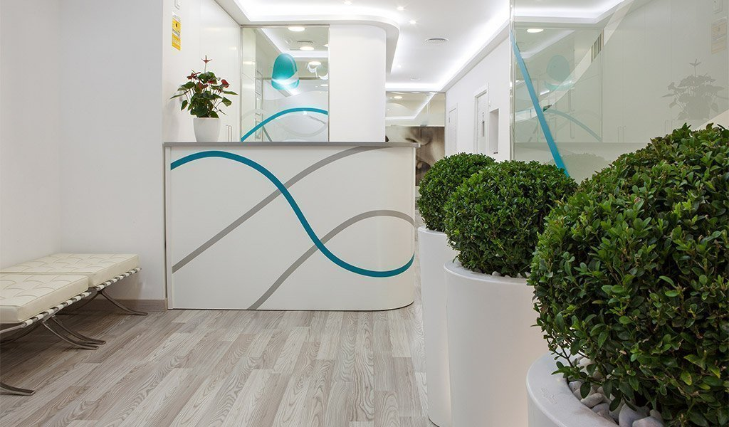Interiorismo dental con Farré Clinics