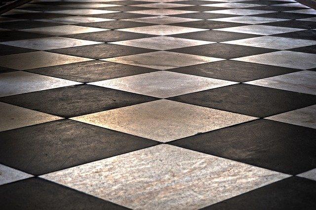 Suelo de mosaico hidráulico